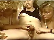 Hermaphrodite with 2 girls