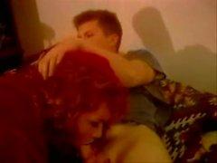 Stranger TS girl in a vintage porn movie