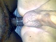 Tranny Blowjob Black dick and Fucking Hot