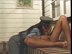 Mad sex with a police Tgirl