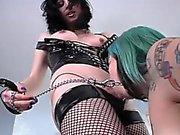 Tgirl Aly Sinclair bangs Krystals pussy