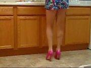 Sexy Legs in pink heels 2