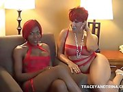 Tracey and Trina Make it Rain