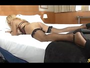 Lovely shemale Yenny in Late Night Pillow Talk