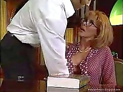 Mature Italian Teacher Fucking Students In Her Office