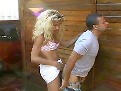 Larissa Monteiro Catches A Guy