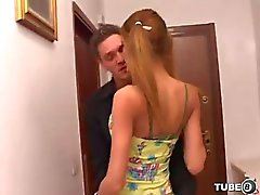 Oral and anal pleasure for a sweet tranny girl