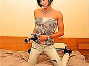 Hot Teen Crossdresser GFs!