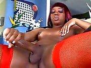 Big Dick Black Shemale