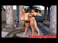 Amazing Adult Animation Having A Tranny Teen Shemale