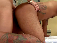 Super steamy transsexual STAR Isabelly Killer Shows Perfect Body, boobies & Fucks Sub Dude