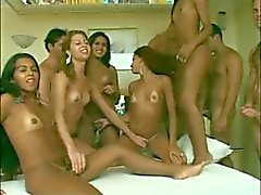Latina orgy party relaxation