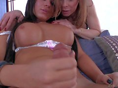 Ashley George and Jasmine Jewels are cock loving trannies
