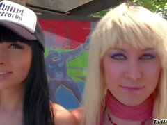 Ts friends Bailey Jay and Bee Armitage