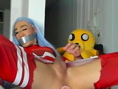 Kinky Shemale Kate Yoshi on Webcam Part 3