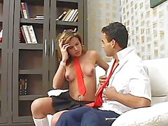 Gorgeous She-Male Anal Love Students - Scene 2