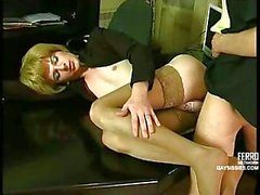 Office CD Gets Sucked & Fucked